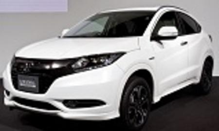 Honda vezel suv front