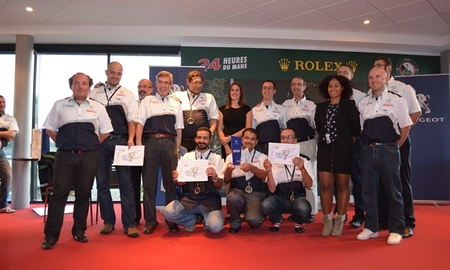 Peugeot technical advisors world cup  paris