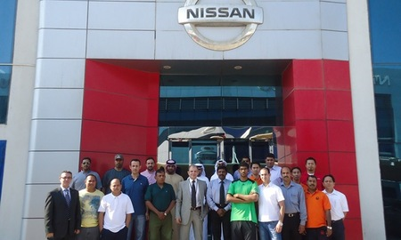 Nissan training programme