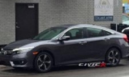 Honda civic spied 3 1