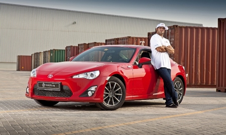Ahmed al ameri with toyota 86