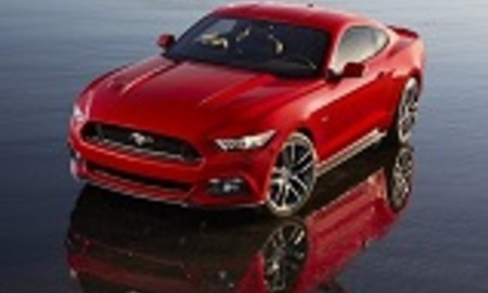 2015 ford mustang coupe front