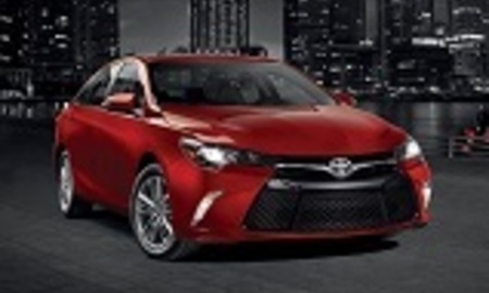 2016 toyota camry front