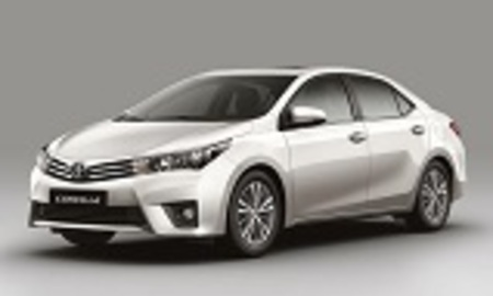 2014 toyota corolla front