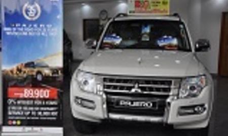 Mitsubishi pajero 2016 front
