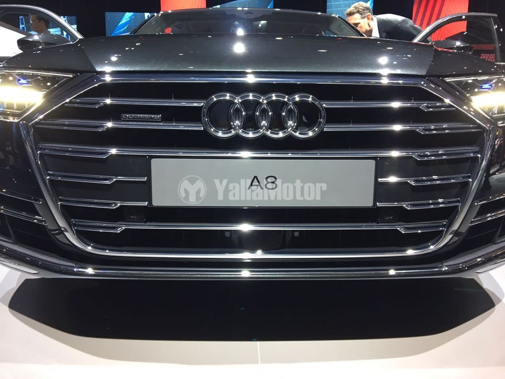 2018 Audi A8 Unveiled in Barcelona