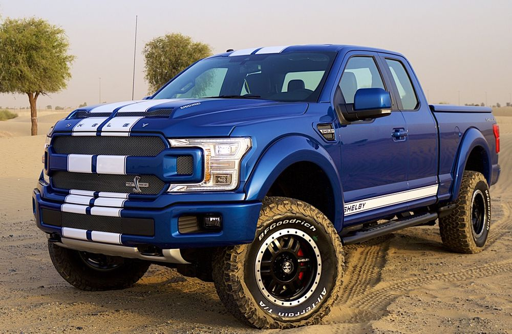2019 ford f150 shelby debuts in the uae qatar yallamotor. Black Bedroom Furniture Sets. Home Design Ideas