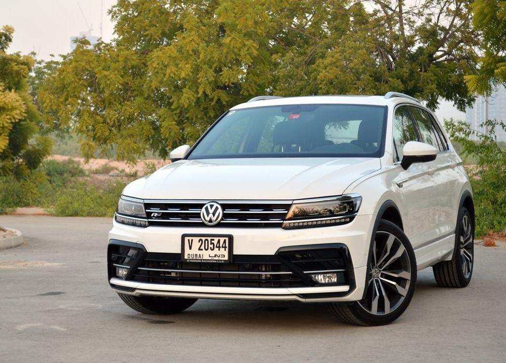 Volkswagen Tiguan 2018 Front