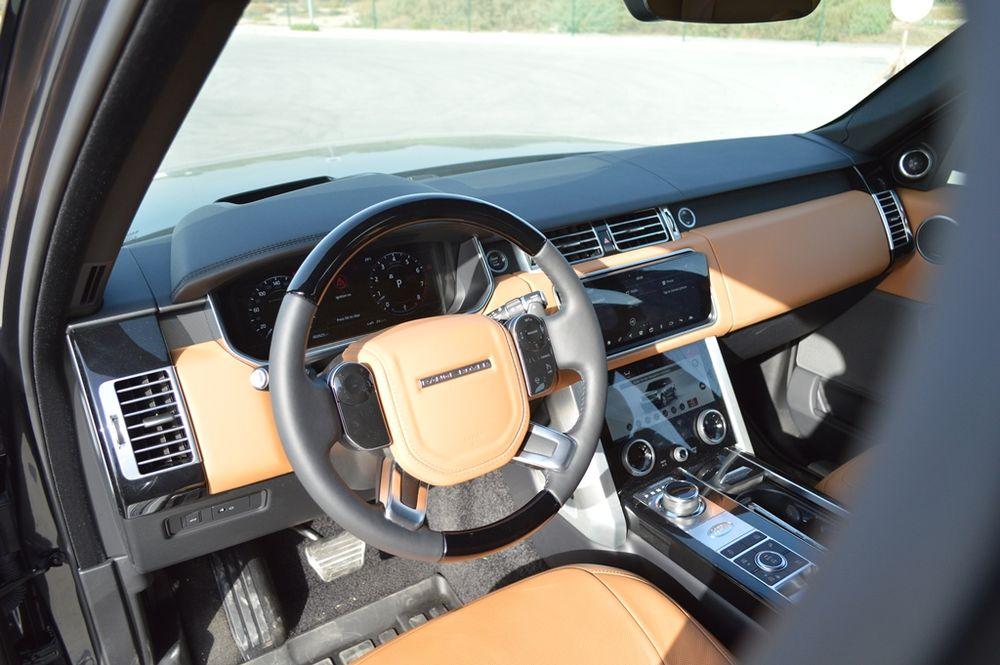 Range Rover Vogue 2018 Interior