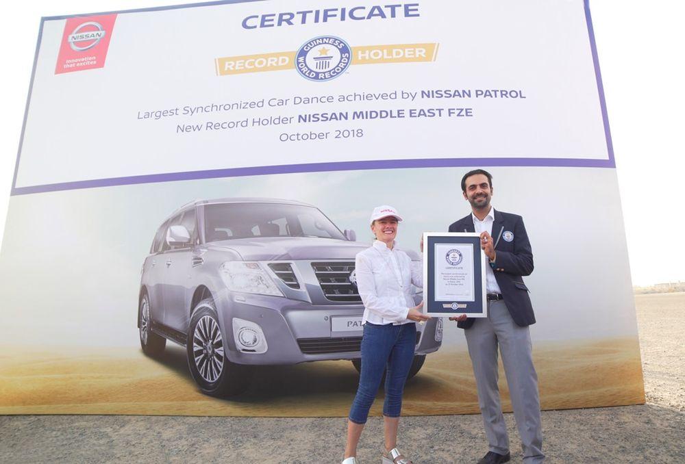 Nissan Patrol Guinness World Record