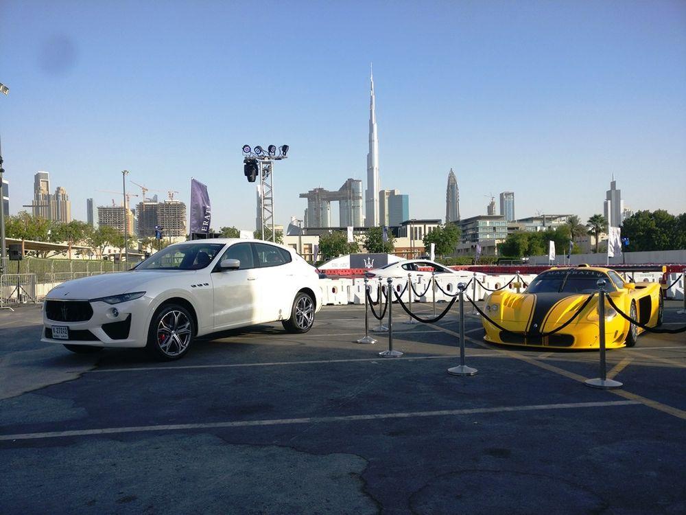 Maserati Unleased in the City Dubai