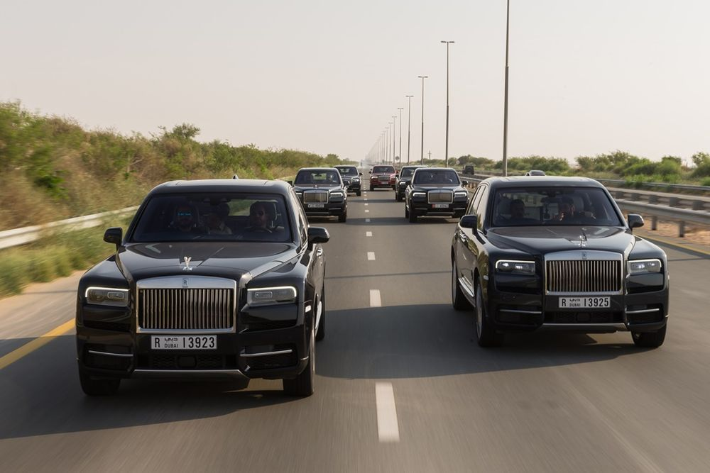 Rolls Royce Cullinan 2019 Front
