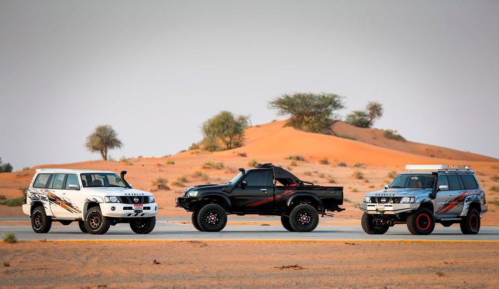 Nissan Patrol Safari Lineup