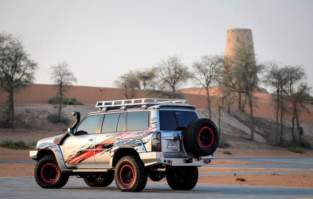 Nissan Patrol Safari Gazelle X Rear