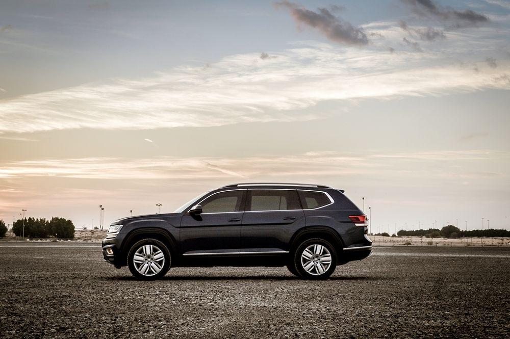Volkswagen Teramont 2019 Side