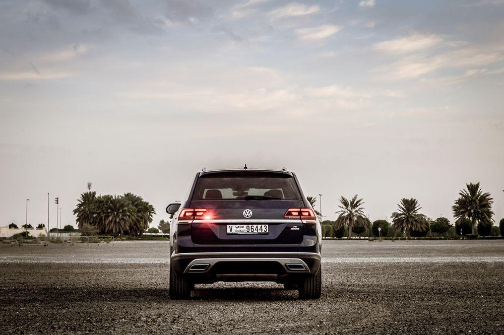 Volkswagen Teramont 2019 Rear