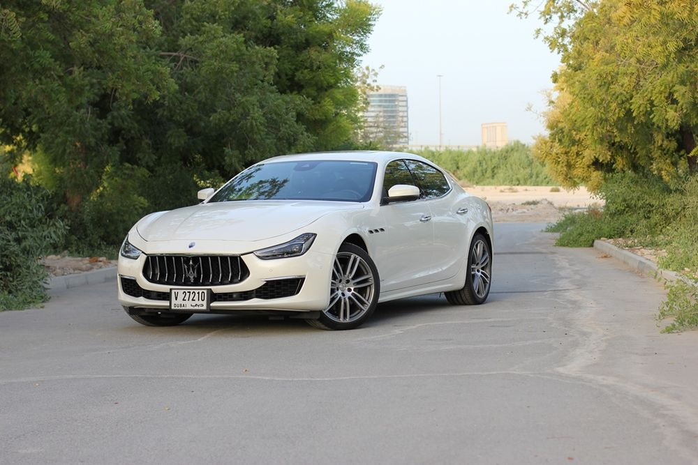 Maserati Ghibli 2019 Front