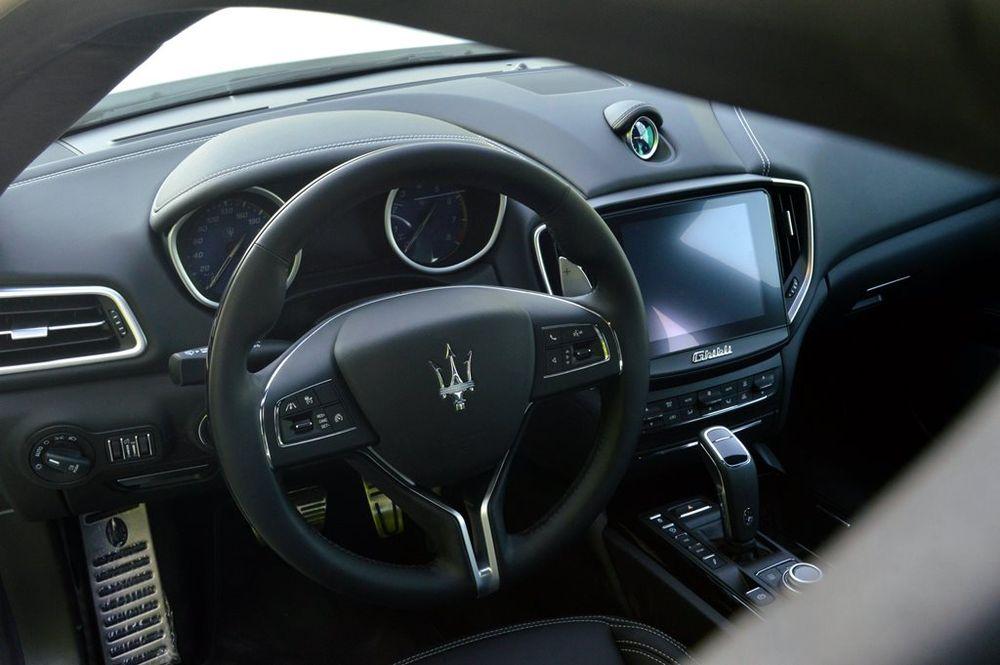 Maserati Ghibli 2019 Interior