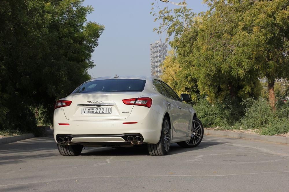 Maserati Ghibli 2019 Rear