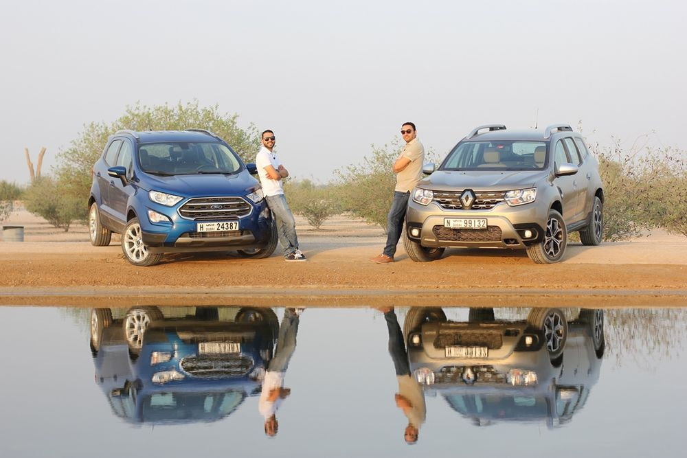 Ford EcoSport vs Renault Duster 2019