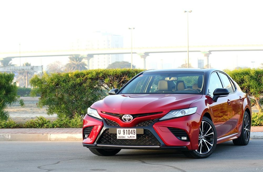 Toyota Camry 2019 Front