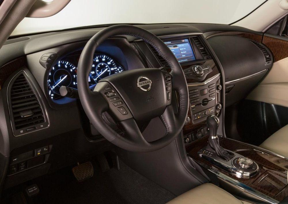 Nissan Patrol 2019 Interior