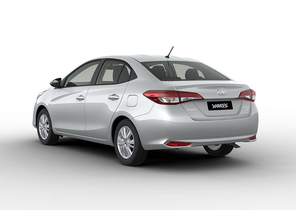 Toyota Yaris 2019 Rear