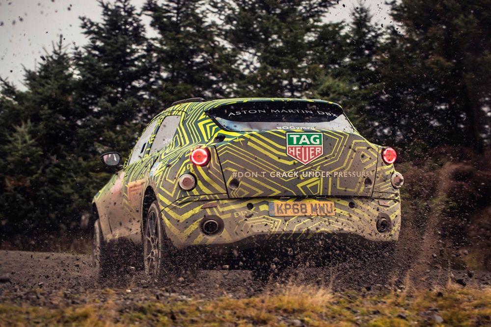 Aston Martin DBX SUV Rear