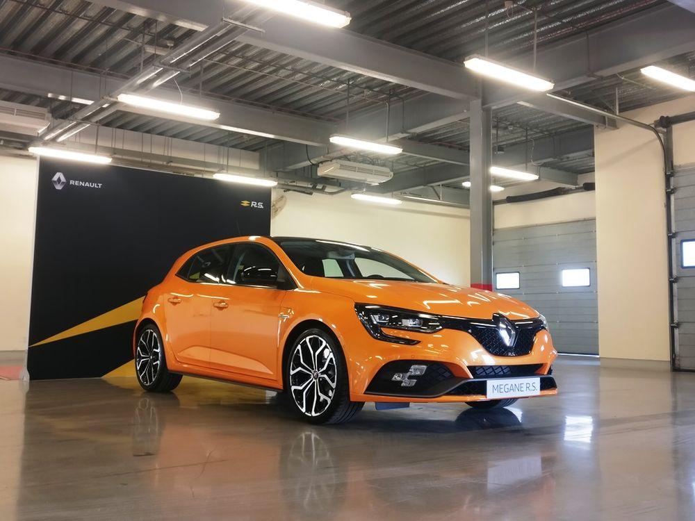 Renault Megane RS 2019 Side