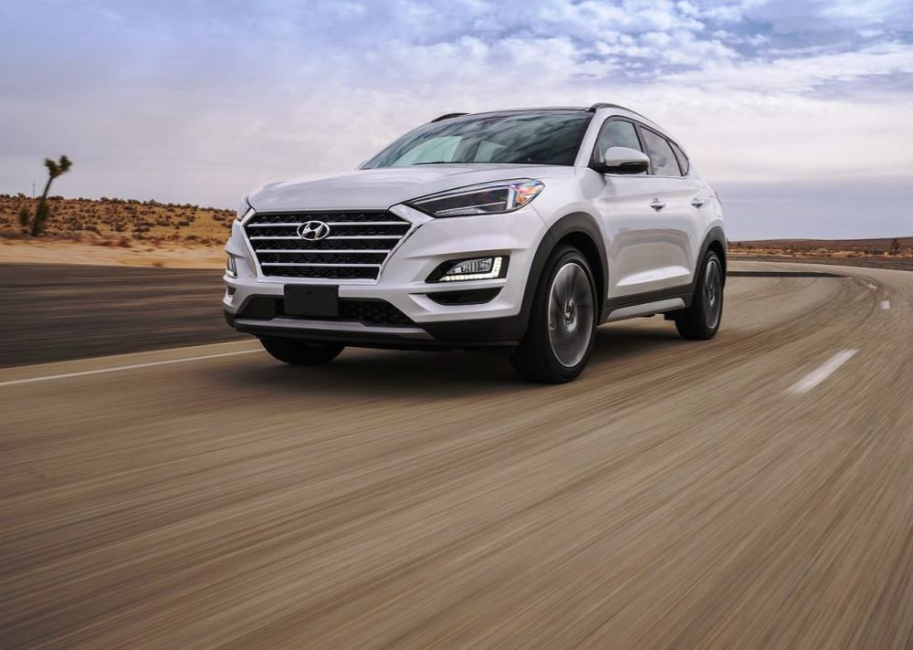 Hyundai Tucson 2019 Front