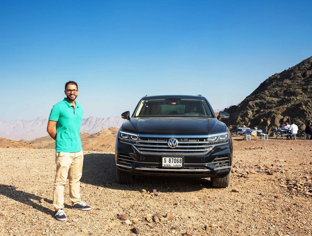 Volkswagen Touareg 2019 Front