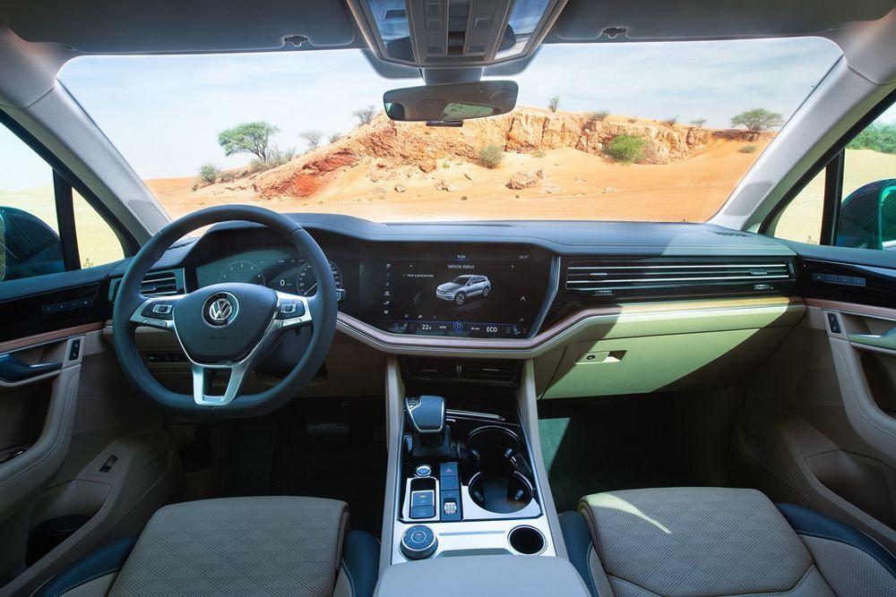 Volkswagen Touareg 2019 Interior