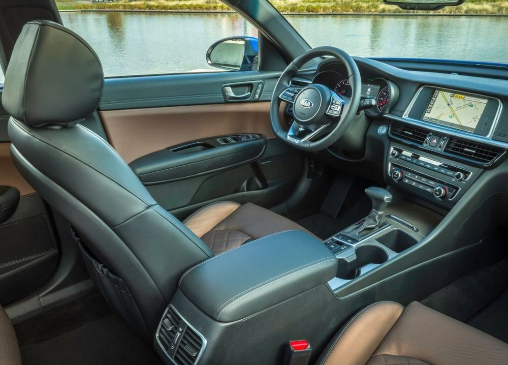 Kia Optima 2019 Interior