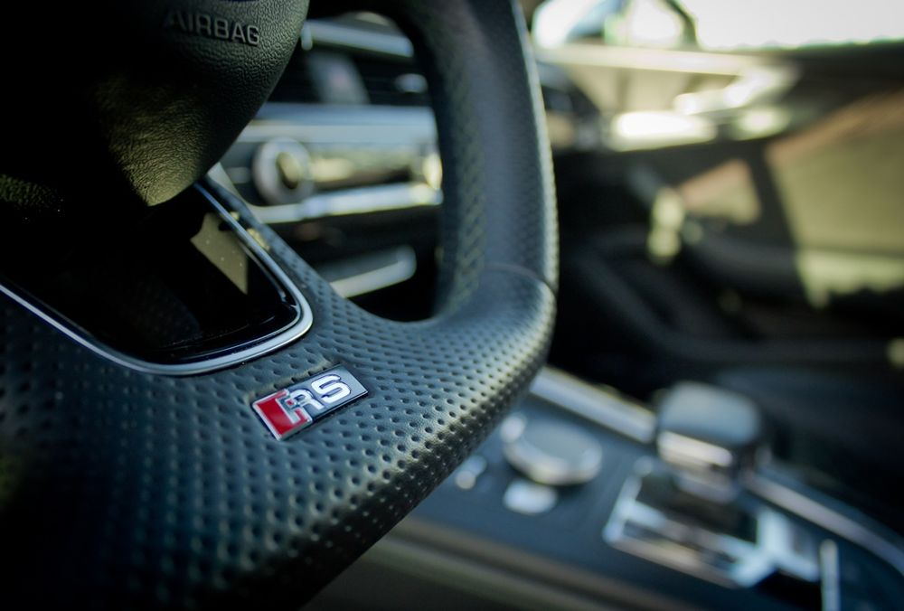 Audi RS5 2019 Steering RS