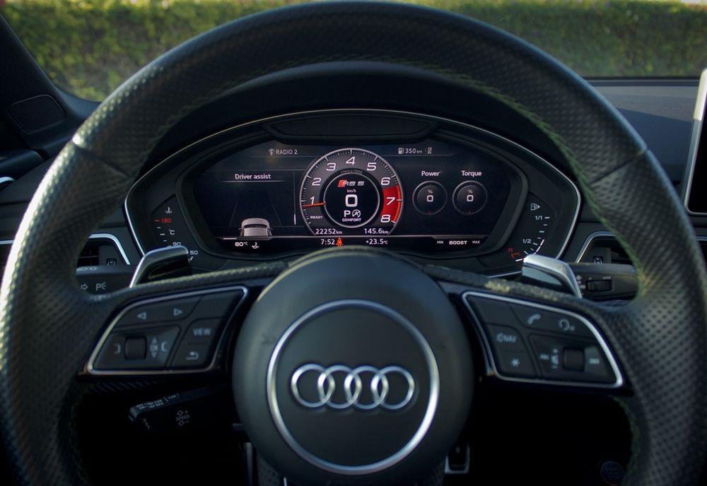 Audi RS5 2019 Steering