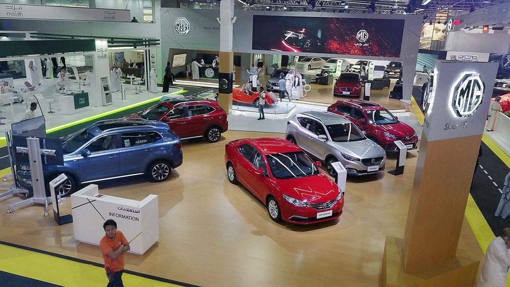 MG6 Saudi Motor Show