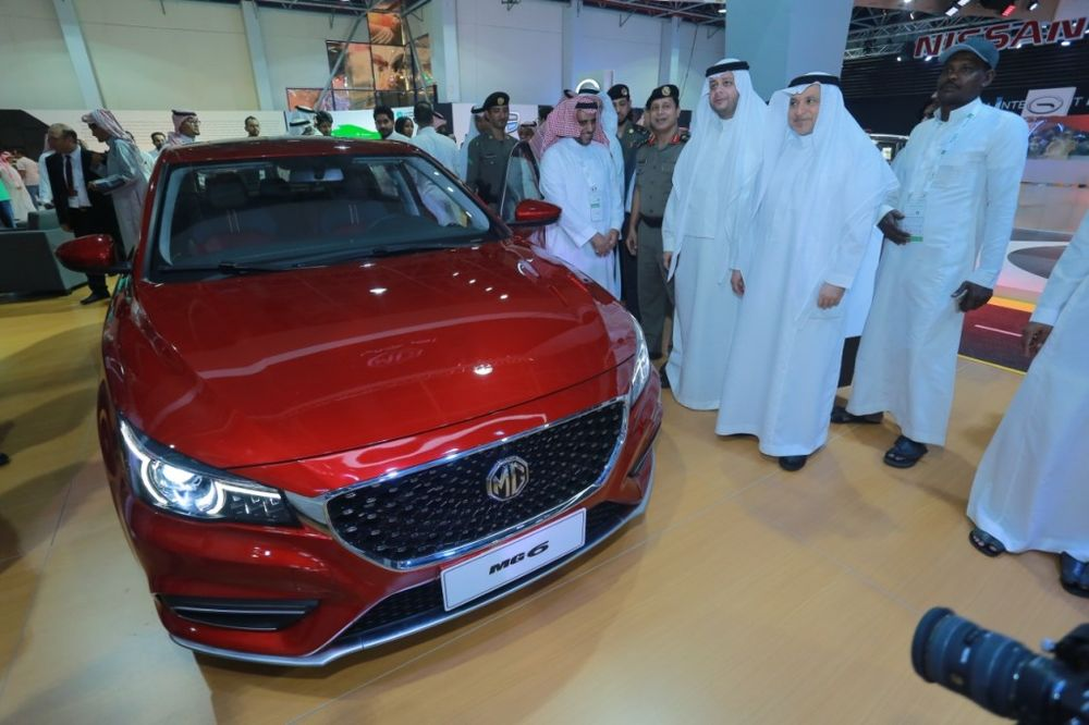 MG6 Saudi Motor Show - 2