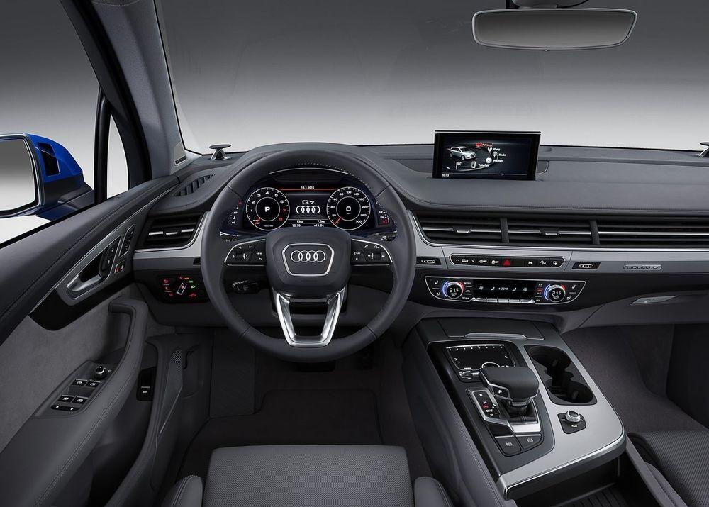 Audi Q7 2019 Interior