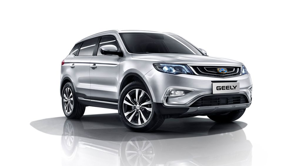 Geely X7 Sport Front