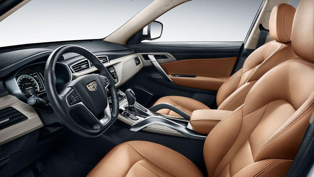 Geely X7 Sport Interior