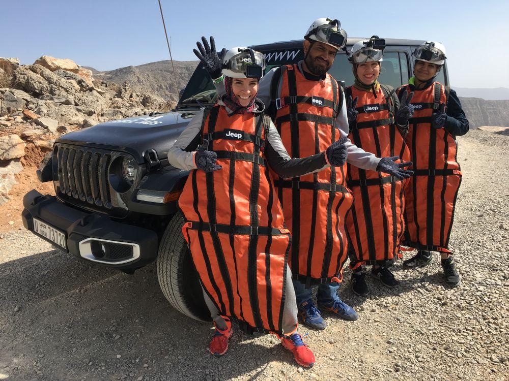 Jeep Zipline