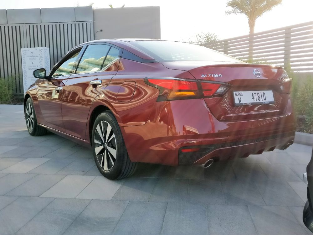 Nissan Altima 2019 Rear