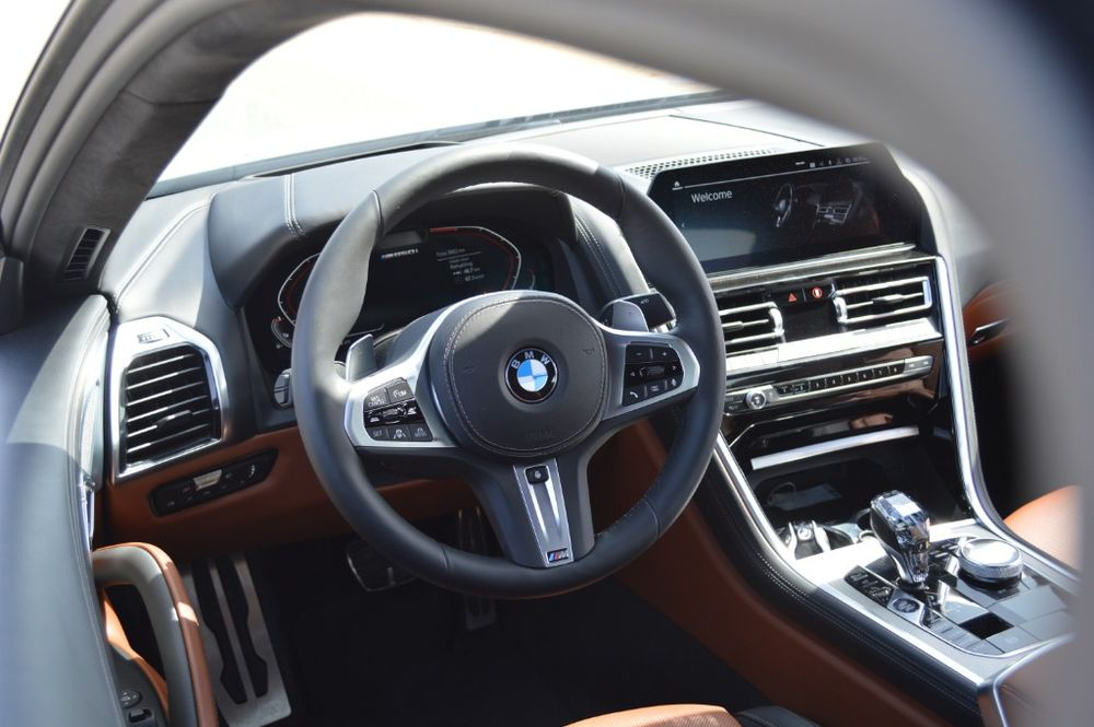 BMW 8 Series 2019 Interior