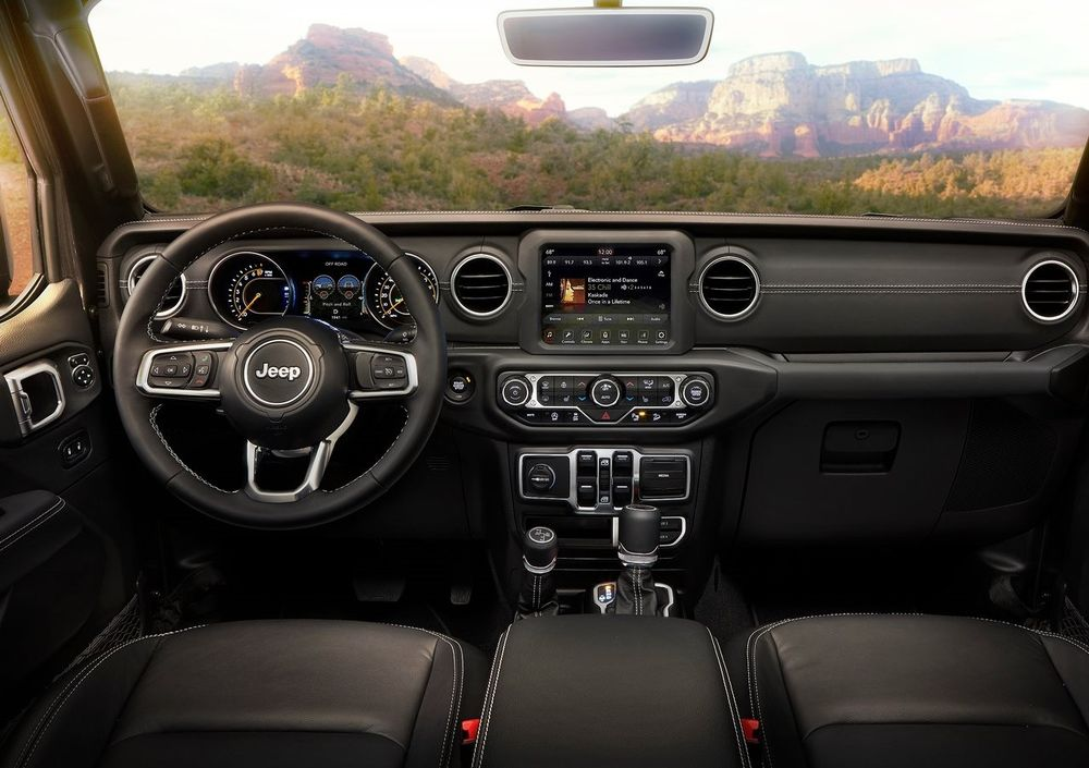 Jeep Wragnler 2019 Interior