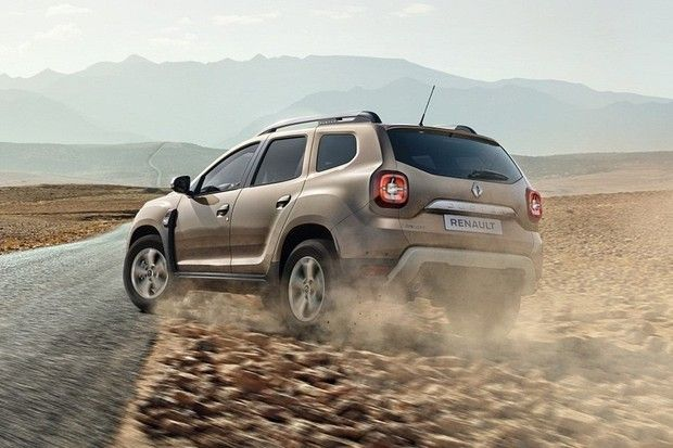 Renault Duster 2019 Rear