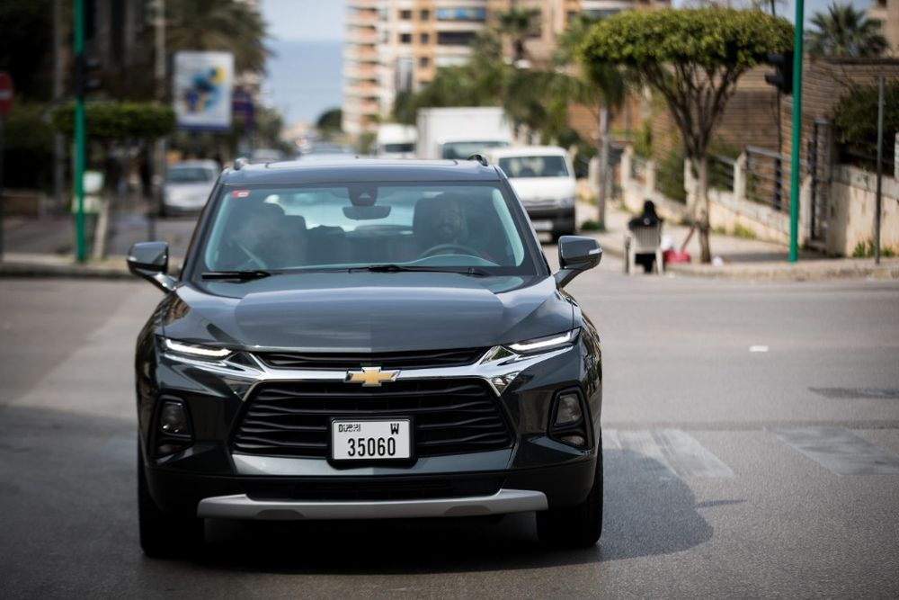 Chevrolet Blazer 2019 Front
