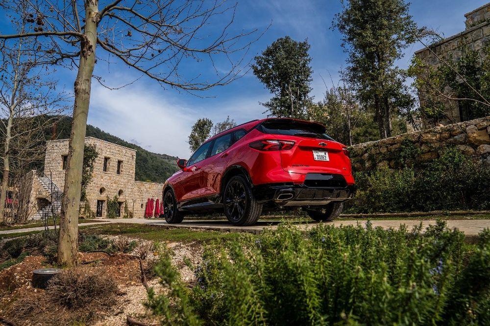 Chevrolet Blazer 2019 Rear