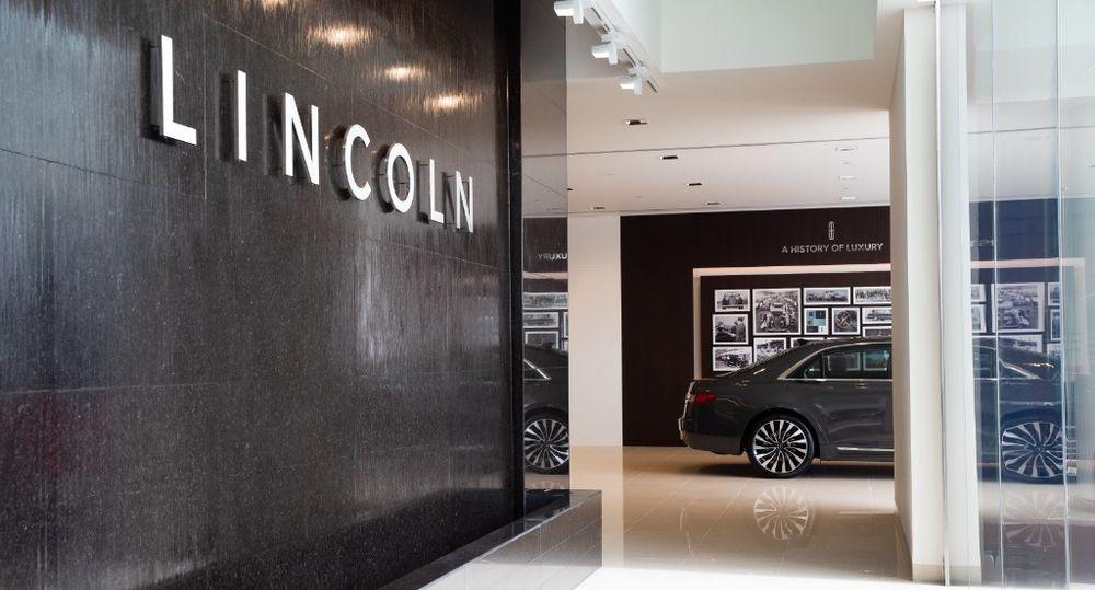 Al tayer Lincoln Showroom Dubai