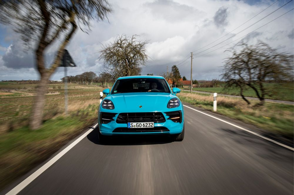 Porsche Macan 2019 Front