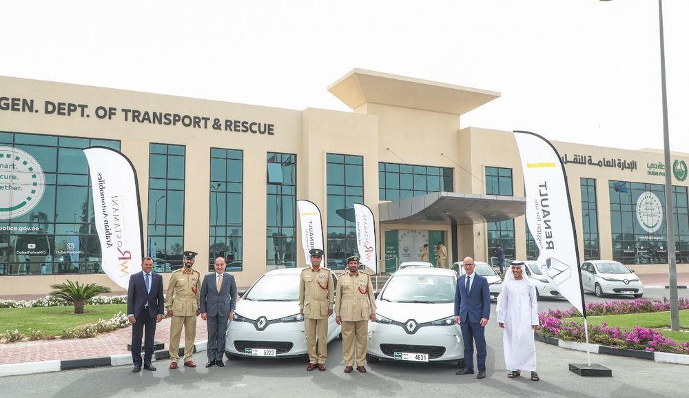 Renault Zoe Dubai Police